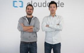 Cloudcade founders Mathieu Rouleau and Di Huang