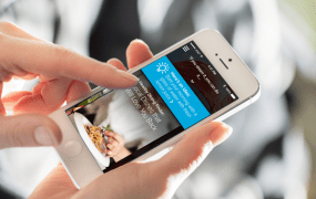 Welltok's CafeWell Concierge app, powered by IBM's Watson
