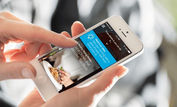 Welltok's CafeWell Concierge app, powered by IBM's Watson