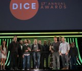Dice Awards in 2014: Naughty Dog team wins Game of the Year for The Last of Us.