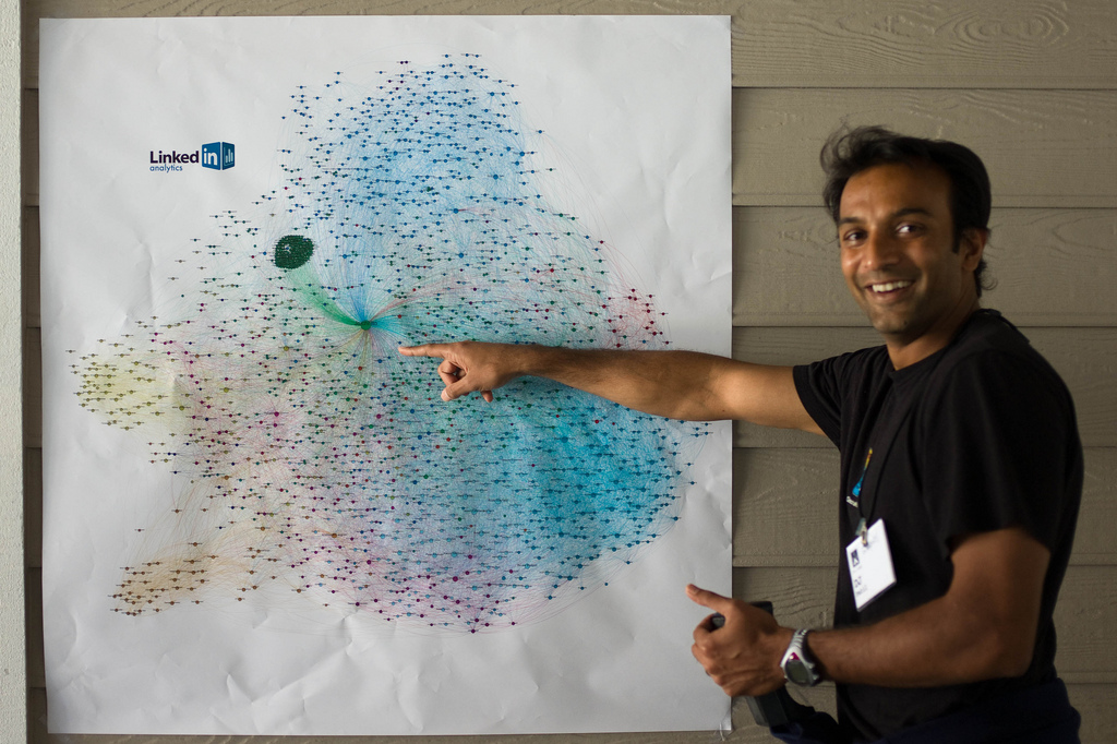 DJ Patil, once the head of data products at LinkedIn