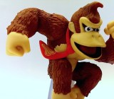 Even in a still pose, showing personality comes easy for Donkey Kong.