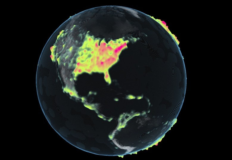 Map-D lets you visualize data, quickly.