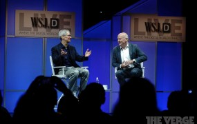 Tim Cook, speaking at WSJD Live with Gerry Baker of the Wall Street Journal.
