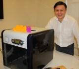 Simon Shen, CEO of XYZprinting