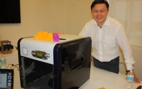 Simon Shen, CEO of XYZprinting