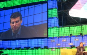 Twitter's Adam Bain discusses the company's revenue challenges at the Web Summit in Dublin.
