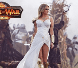 Kate Upton in the TV ad for Game of War.