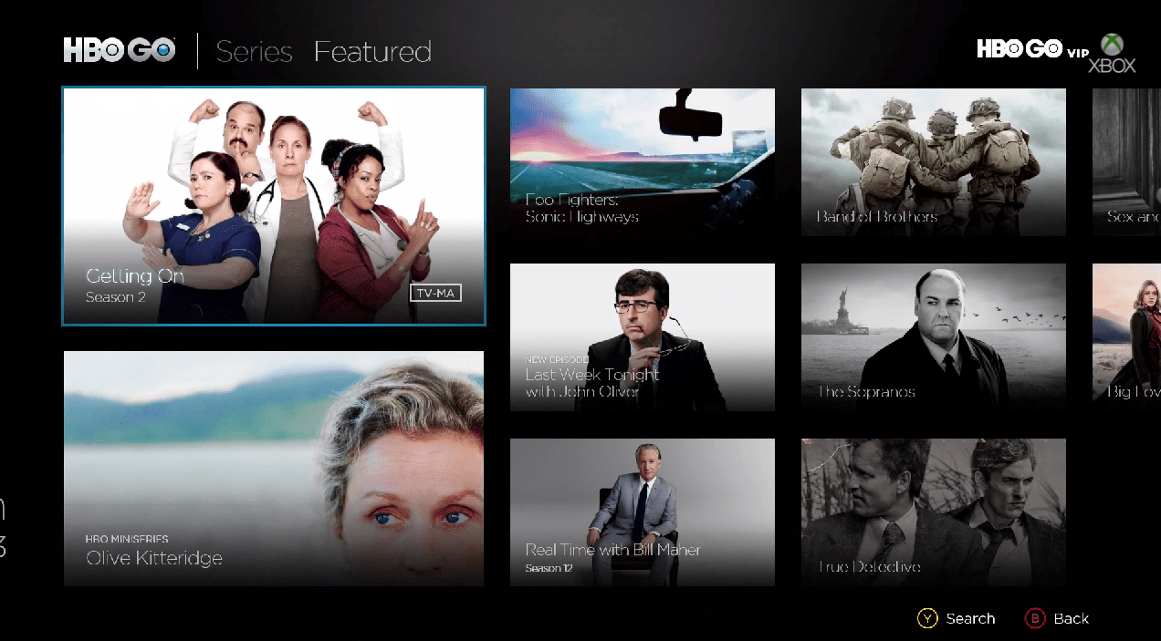 HBO Go brings all the premium-cable content the channel has to offer.