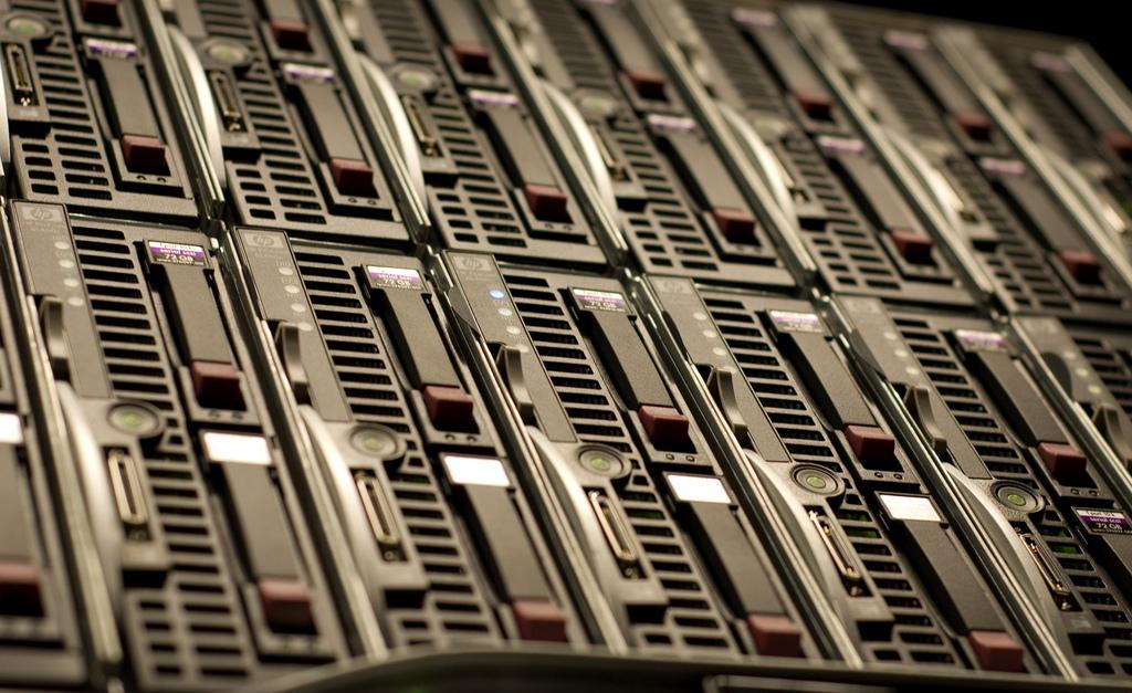 HP Blade servers gothopotam Flickr