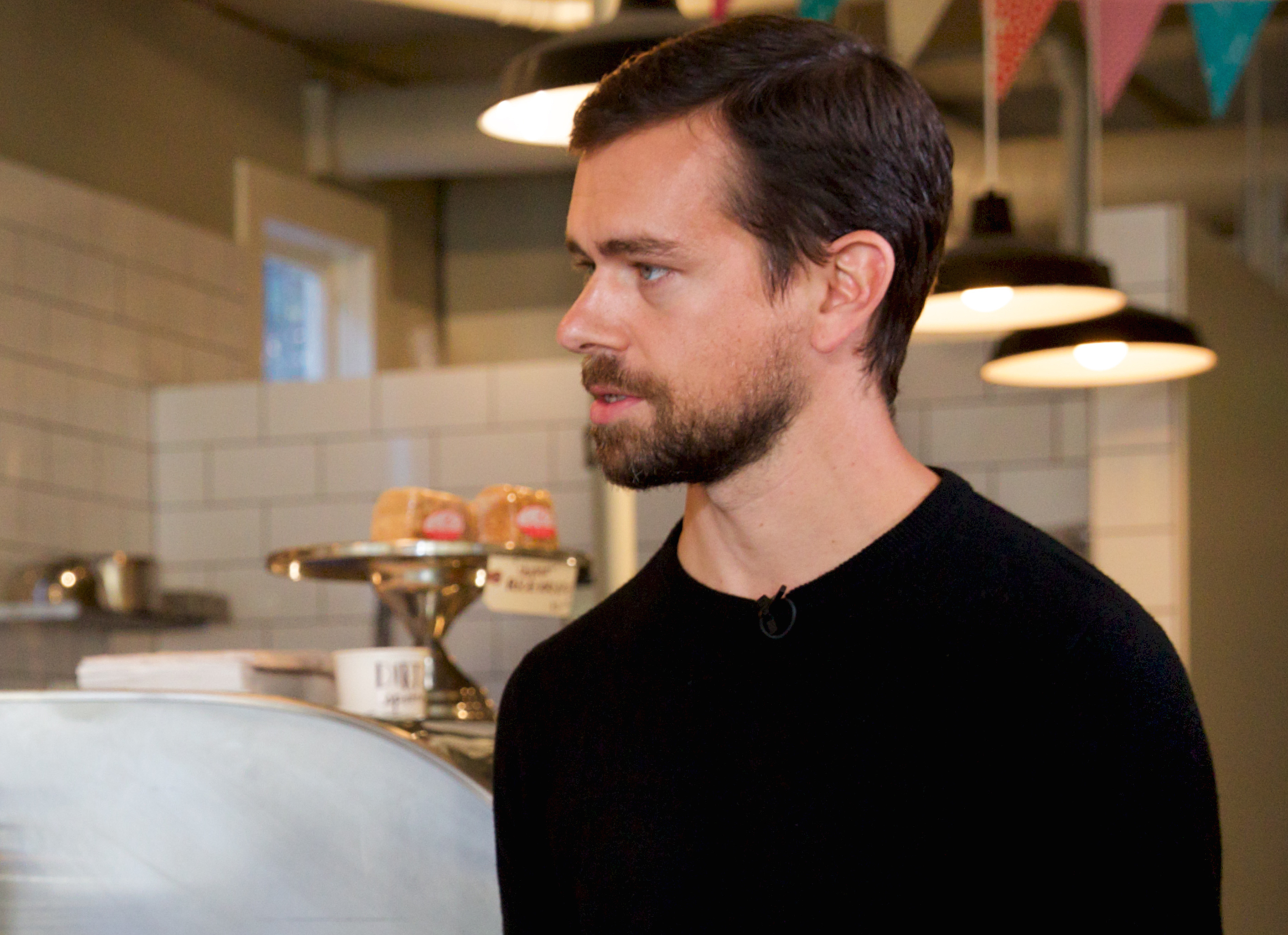 Square and Twitter cofounder Jack Dorsey.