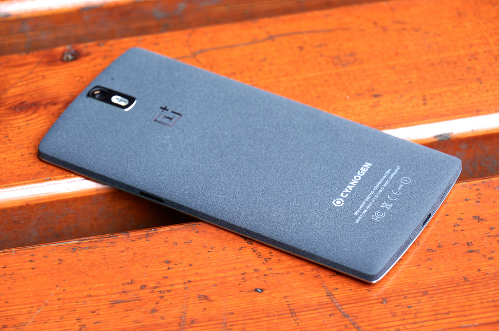 The OnePlus One phone.