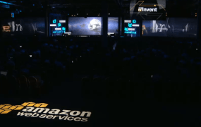 Amazon's re:Invent conference in Las Vegas on Nov. 13.