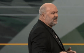 Amazon.com chief technology officer Werner Vogels speaks at Amazon's re:Invent conference in Las Vegas on Nov. 13.