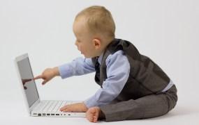 Baby laptop Paul Inkles Flickr