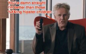 Gary Busey vs Kiddo