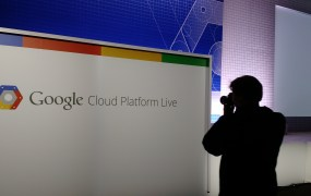 At the Google Cloud Platform Live event in San Francisco on Nov. 4.