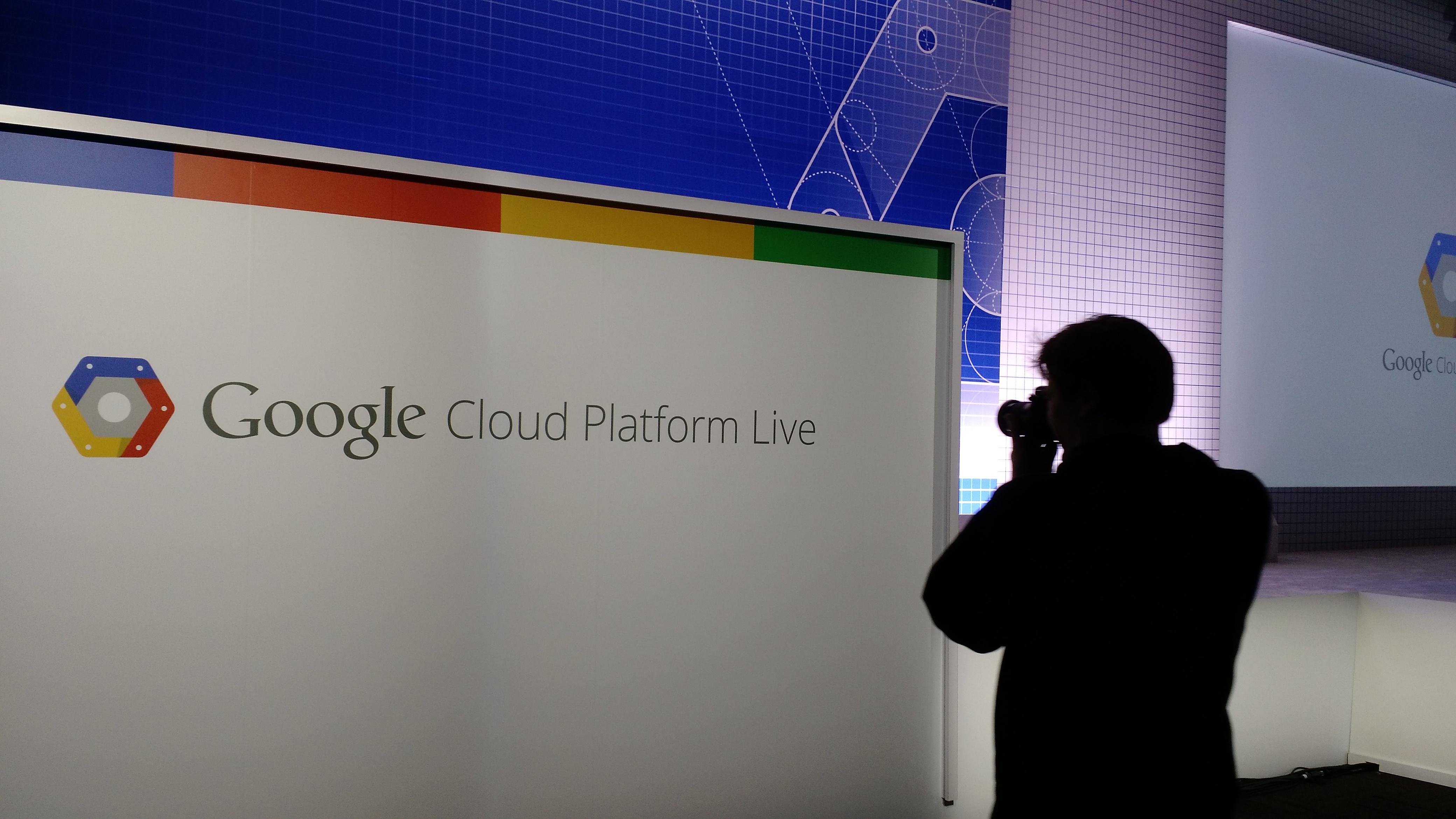 At the Google Cloud Platform Live event in San Francisco on Nov. 4.