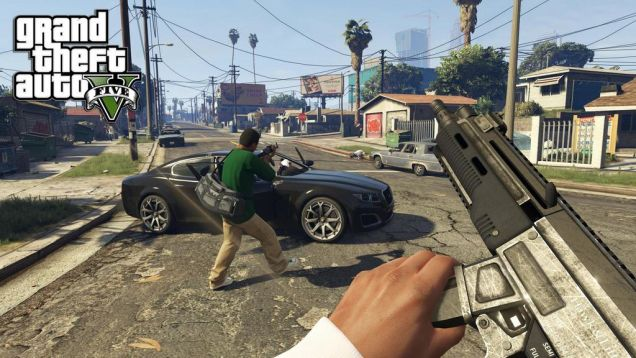 GTA in first-person.