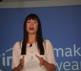 Intel Make It Wearable Event host Veronica Belmont
