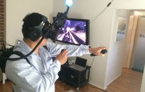 Oculus Rift with Survios.