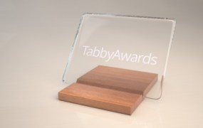 TabbyAwards_trophy_light  3D image