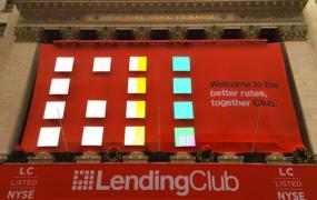 Lending Club prepares for its IPO at the New York Stock Exchange