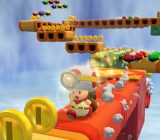 Captain Toad is just as beautiful as Super Mario 3D World.
