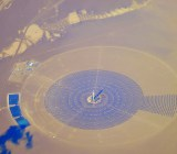 The Crescent Dunes Solar Energy Project in Nevada will generate 100 megawatts of power when complete.