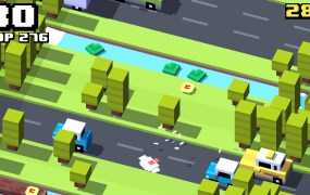 Crossy Road is the culmination of Matt Hall's philosophy.