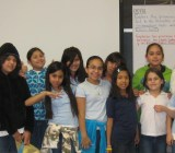 A Girlstart after-school club at Wooten Elementary school in Austin, Texas.