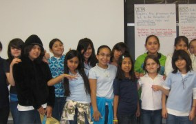 A Girlstart after-school club at Wooten Elementary school in Austin, Texas.