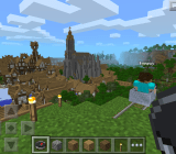Minecraft: Pocket Edition is going strong three years after its original release.