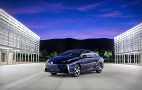 The 2016 Toyota Mirai