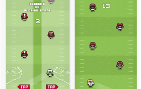College Football Hero is a simple game that is hoping to attract fans with money.