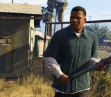 GTA V's Franklin is headed to the Rockstar Games headquarters to convince them to hurry up with the PC release.