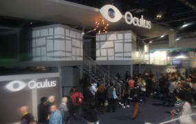 Oculus VR booth at CES 2015
