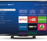 Best Buy's Insignia brand of TVs will feature Roku TV integration as shown.