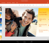 Office Android tabs