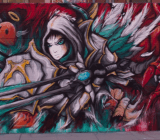 Summoners War street art in L.A.