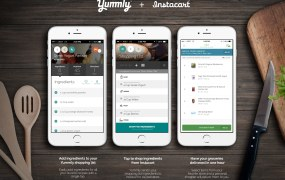 A promo for Yummly's Instacart deal.