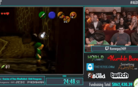 Speedrunner 'Runnerguy2489' played through some Zelda temples while blindfolded.