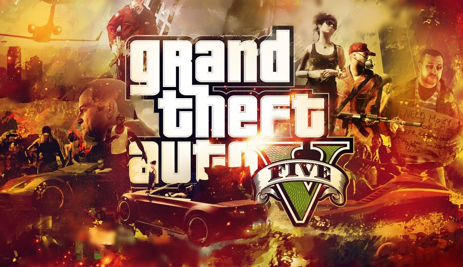 Grand Theft Auto V is on fire on Steam.
