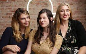 Emily Goldwyn, Sasha Spielberg and Rylee Ebsen