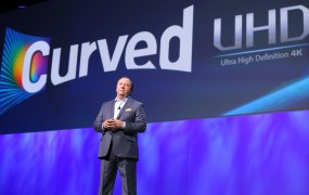 Samsung's Joe Stanziano discusses his companies progress with Ultra HD.
