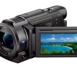 Sony's new 4K FDR-AX33 HandyCam