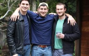 Argo founders Ryan Atallah, Andrew Vigneault, and Ari Dyckovsky