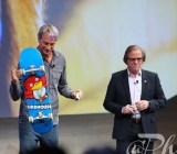 Tony Hawk at Sony CES event