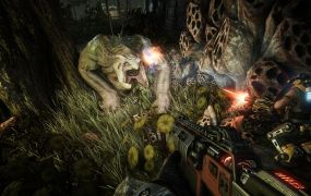 There's plenty of wildlife that'll distract you from the hunt in Evolve.
