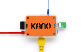 The Kano computer is built around the Rasberry  Pi single-board computer.